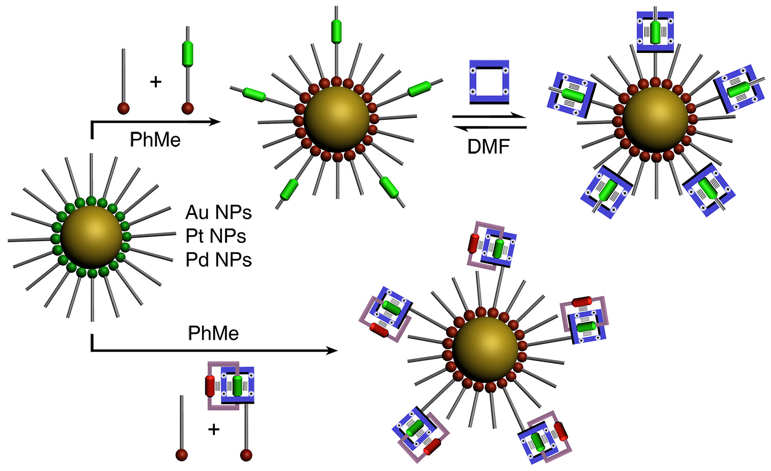 Picture of publication: Metal Nanoparticles Functionalized with Molecular and Supramolecular Switches