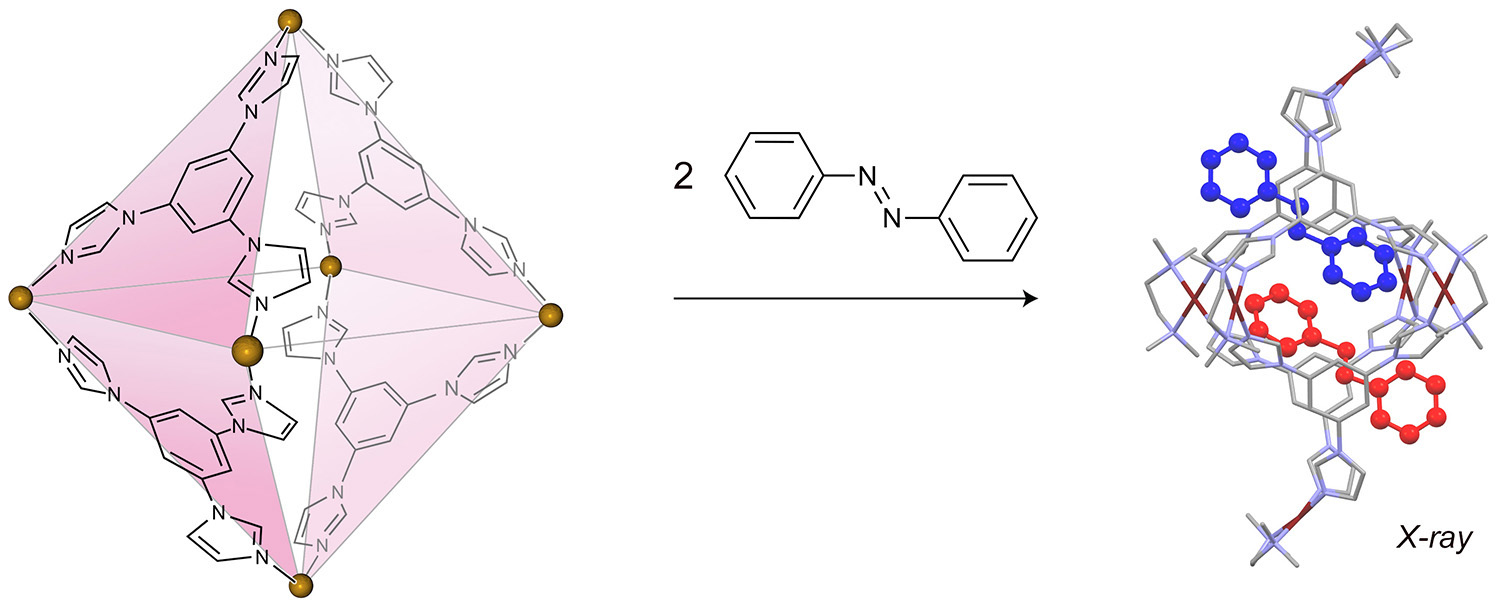 Picture of publication: Reversible photoswitching of encapsulated azobenzenes in water