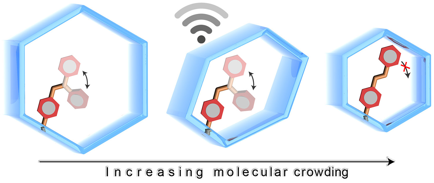 Picture of publication: Molecular Photoswitching in Confined Spaces
